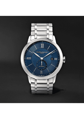 Baume & Mercier - Classima Automatic 42mm Stainless Steel Watch, Ref. No. 10481 - Men - Blue