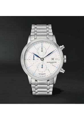 Baume & Mercier - Classima Automatic Chronograph 42mm Stainless Steel Watch, Ref. No. M0A10331 - Men - White