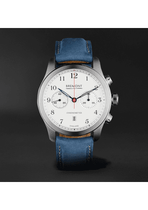 Bremont - ALT1-C Rose Automatic 43mm Stainless Steel and Nubuck Watch - Men - White