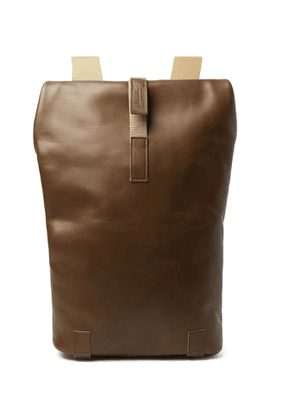 Brooks England - Pickwick Small Leather Backpack - Men - Brown