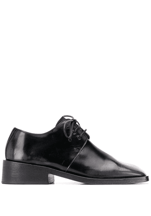 Marsèll square toe lace-up shoes - Black