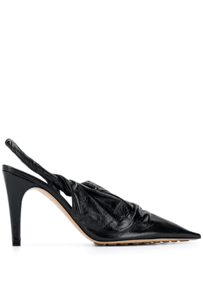 Bottega Veneta BV Point leather pumps - Black