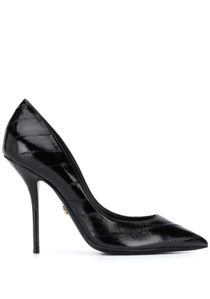 Dolce & Gabbana pointed-toe leather pumps - Black