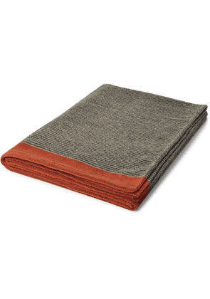 Cleverly Laundry - Striped Cotton-Terry Bath Sheet - Men - Multi
