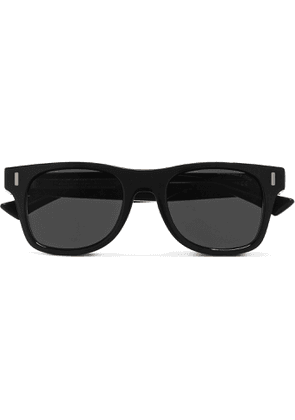 Cutler and Gross - Square-Frame Acetate Sunglasses - Men - Black