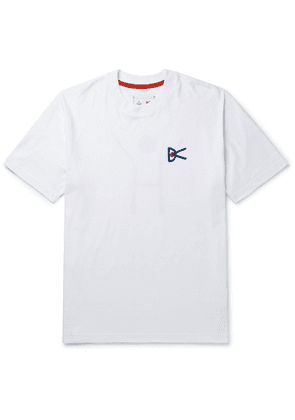 DISTRICT VISION - Reigning Champ Printed Cotton-Jersey T-Shirt - Men - White