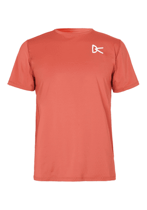 DISTRICT VISION - Slim-Fit Air-Wear Stretch-Mesh T-Shirt - Men - Red