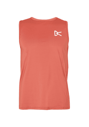 DISTRICT VISION - Air-Wear Stretch-Mesh Tank Top - Men - Red