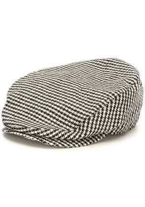 Dolce & Gabbana check pattern cotton hat - Black