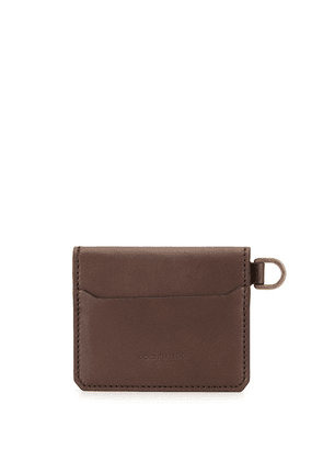 Dolce & Gabbana smooth calf leather cardholder - Brown