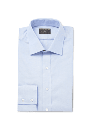 Emma Willis - Slim-Fit Cotton Oxford Shirt - Men - Blue