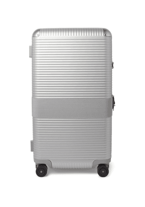 FPM Milano - Bank 93cm Leather-Trimmed Polycarbonate Suitcase - Men - Gray