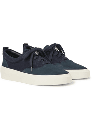 Fear of God - 101 Suede and Nubuck Sneakers - Men - Blue
