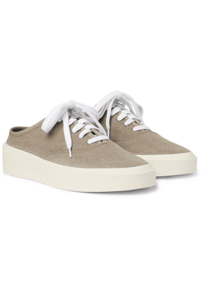 Fear of God - 101 Canvas Backless Sneakers - Men - Brown