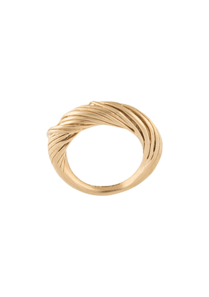 Completed Works Woven ring - GOLD
