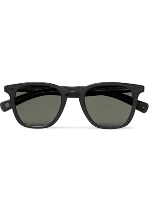 GARRETT LEIGHT CALIFORNIA OPTICAL - Brooks X D-Frame Acetate Sunglasses - Men - Black