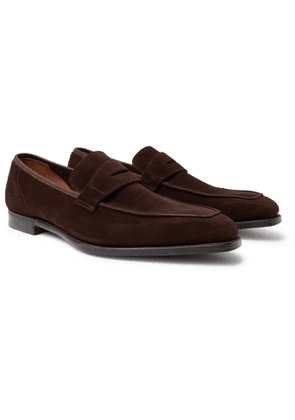 George Cleverley - George Leather Penny Loafers - Men - Brown