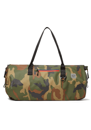 Herschel Supply Co - Trail Coast Camouflage-Print Tarpaulin Dry Duffle Bag - Men - Green