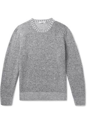 Inis Meáin - Donegal Merino Wool and Cashmere-Blend Sweater - Men - Gray