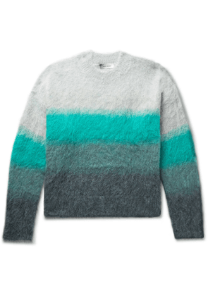 Isabel Marant - Drussellh Dégradé Mohair-Blend Sweater - Men - Green