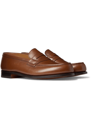 J.M. Weston - 180 Moccasin Full-Grain Leather Loafers - Men - Brown
