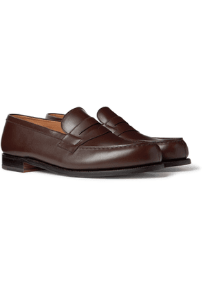 J.M. Weston - 180 Moccasin Leather Loafers - Men - Brown