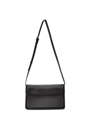 Maison Margiela Black Accordion Messenger Bag