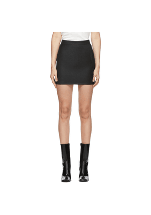 Gauge81 Grey Wool and Cashmere Lapaz Skirt