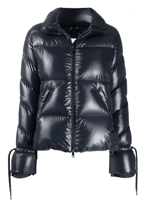 Moncler padded zip-up jacket - Black