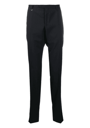 Ermenegildo Zegna woven tailored trousers - Blue