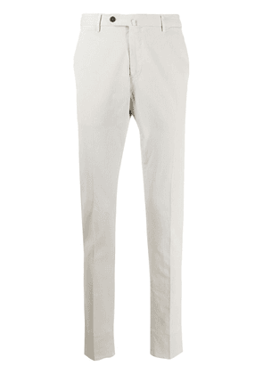Pt01 straight-leg chino trousers - Neutrals
