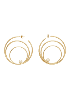 Completedworks Gold The Laws of Gravity Earrings