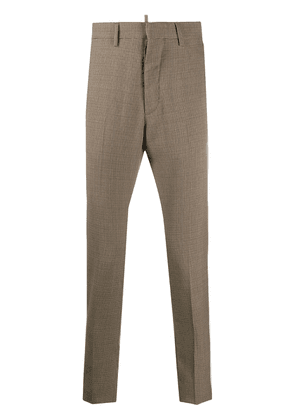 Dsquared2 houndstooth tailored trousers - Neutrals