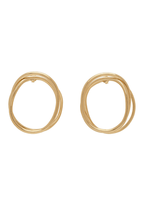 Completedworks Gold An Interval Between Thunderstorms Earrings