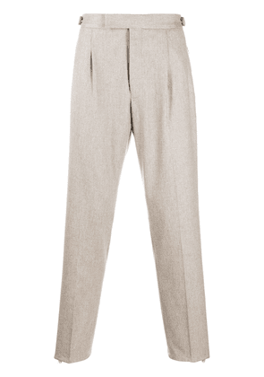 Ermenegildo Zegna wool tailored trousers - Neutrals