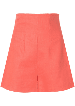 Alexis Camby tailored shorts - ORANGE