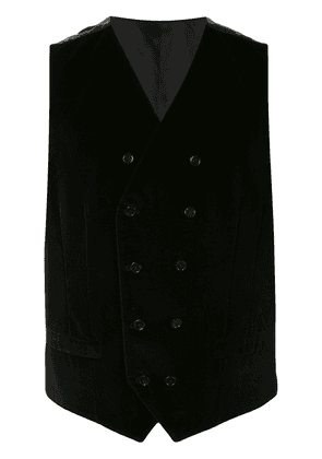 Dolce & Gabbana double-breasted waistcoat - Black