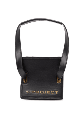 Y/Project Black Mini Accordion Bag