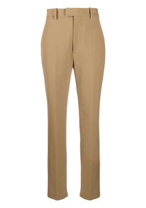 Bottega Veneta tapered high-waisted trousers - Neutrals