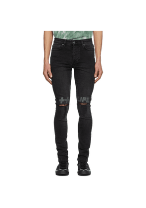 Ksubi Black Chitch Krow Kross Jeans