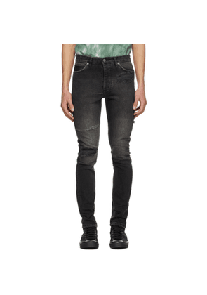 Ksubi Black Chitch Throwblack Biker Jeans