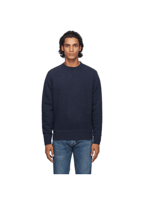 Levis Made and Crafted Blue Relaxed Crewneck Sweatshirt