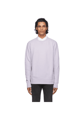Levis Made and Crafted Purple Relaxed Crewneck Sweatshirt