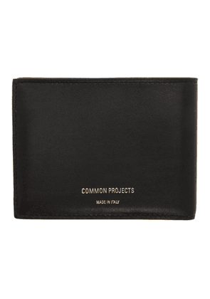 Common Projects Black Standard Wallet