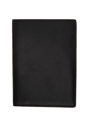 Common Projects Black Folio Passport Holder