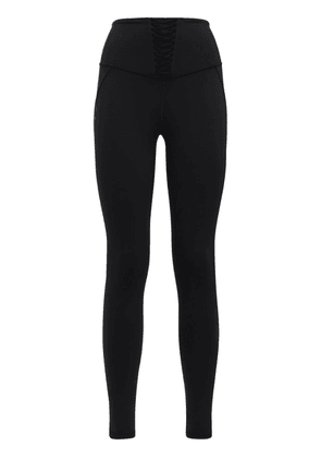 Nero Leggings W/ Lace Inserts