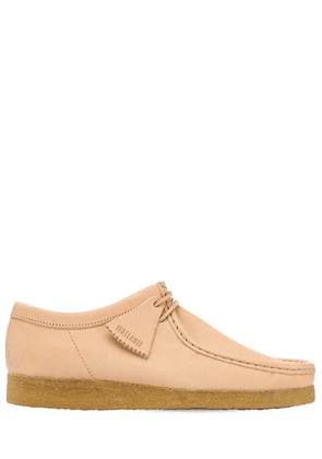 30mm Leather Wallabee Lace-up Shoes