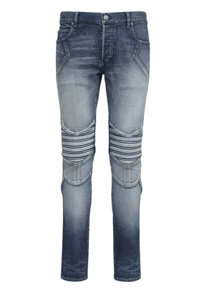 15cm Vintage Embossed Slim Denim Jeans