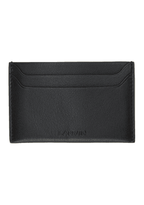 Lanvin Black Credit Card Holder