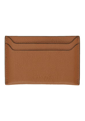 Lanvin Brown Credit Card Holder